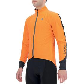 UYN Giacca Packable Aerofit Uomo, arancione/nero
